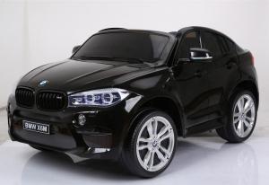 Auto Elettrica Bambini BMW X6 M 12V Nera 2 POSTI