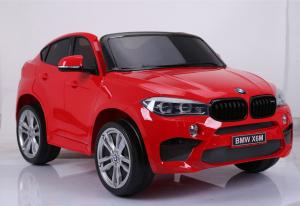 Auto Elettrica Bambini BMW X6 M 12V Rossa 2 POSTI
