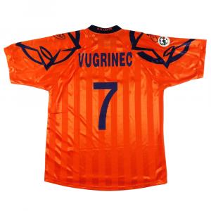 2000-01 Lecce Maglia Match worn vs Inter #7 Vugrinec XXL COA