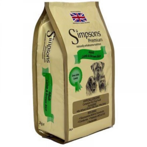 SIMPSONS ADULT AGNELLO E RISO INTEGRALE 2KG