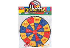 BERSAGLIO DI STOFFA 35CM C2 PALLINE E 2 39754 GLOBO