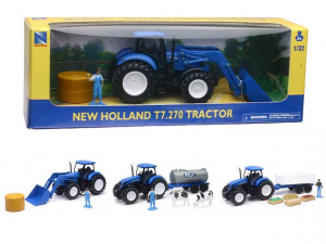 1:32 NEW HOLLAND TRACTOR T7 270 3ASS 05523 NEW RAY