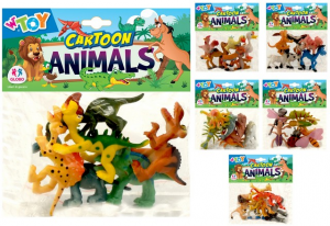 ANIMALI COMICI 6PZ 6 AS. 39591 GLOBO