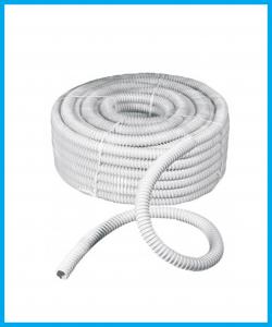 Rotolo 30mt guaina spiralata flessibile grigio