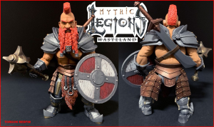 Mythic Legions - Wasteland: TORGUN REDFIN