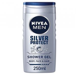 Nivea Men Silver Protect Shower Gel 250ml