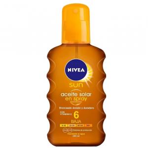 Nivea Sun Oil Spray Spf 6 200ml