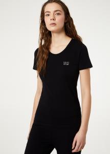 T-shirt Liu Jo sport a maniche corte e logo TA0001J5003