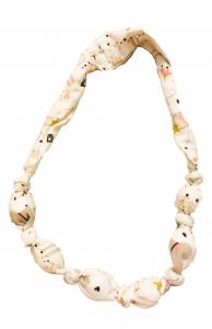 Ballerine - collana di stoffa