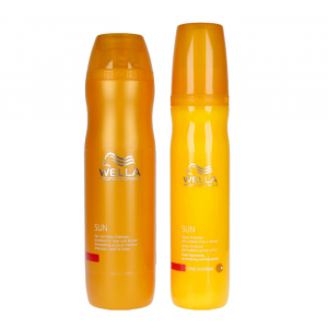 Wella Sun Hair & Body Shampoo Set 2 Parti