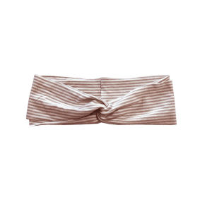 Fascia per capelli Bambina 158 Bamboom Rigato Bianco/Rosa