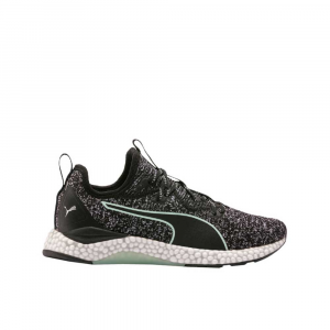 Puma Hybrid Runner Black Fair Aqua da Donna