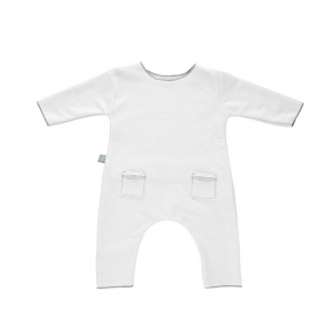 Tutina per neonato Jumpsuit Pure Bamboom Bianco