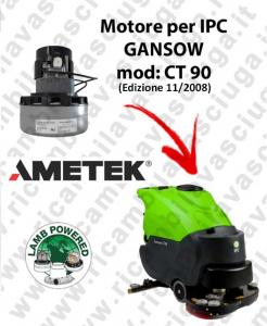 CT 90 BT 85 MOTORE LAMB AMETEK di aspirazione  for scrubber dryer IPC GANSOW (edizione dal 05/2012)