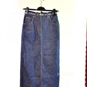 Gonna Krizia Jeans Tg 40