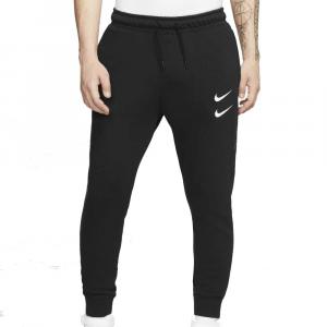 Nike Pantalone Swoosh  Black da Uomo
