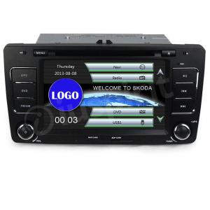 Autoradio 2DIN navigatore per Skoda Octavia 2004-2013 GPS DVD USB SD Bluetooth