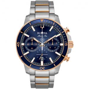Bulova Marine Star Cronografo Blu e Rosato
