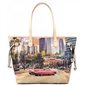 Borsa shopping grande YNot Donna Yes Bag 319 Miami