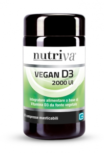 Vegan D3 2000 UI 60 Cpr