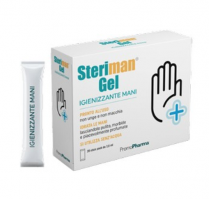 Igienizzante Steriman gel 20 stick packs