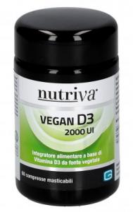 NUTRIVA VEGAN D3, 60 capsule
