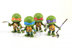 Teenage Mutant Ninja Turtles (the Loyal Subjects) Wave 2 - Set 4 tartarughe