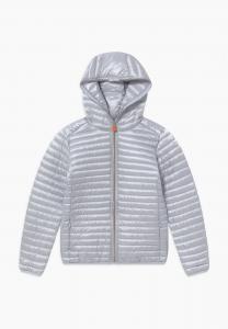 Light gray chrystal jacket size 8 years
