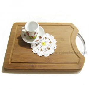 Sottobicchiere Margherita Bianco e Giallo ad uncinetto 12 cm - Handmade in Italy