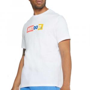 Nike T-Shirt Just Do It White da Uomo