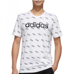 Adidas t-shirt Logo White da Uomo
