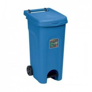 Stefanplast Bidone Urban Eco System 80 lt Blu