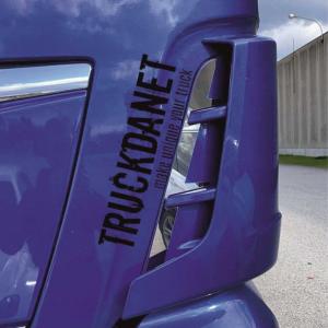 Man Profili interni prese d'aria  in acciaio Inox lucido Man TGX Euro 6