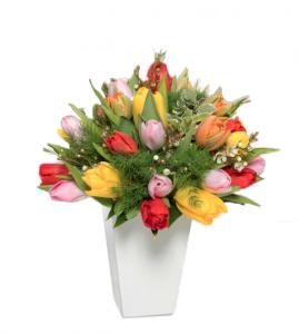 Bouquet tulipani colorati € 50,00