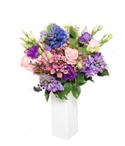 Bouquet rosa e viola € 50,00