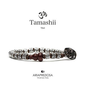 Bracciale Tamashii Ruota Preghiera in Argento BHS924-S4