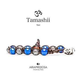 Bracciale Tamashii Ruota Preghiera Agata Blu