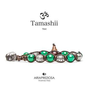Bracciale Tamashii Ruota Preghiera Agata Verde