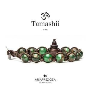 Bracciale Tamashii Quarzo Mosaico Verde