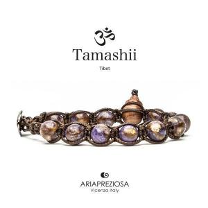Bracciale Tamashii Quarzo Mosaico Viola