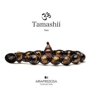 Bracciale Tamashii Occhio di Tigre Marrone