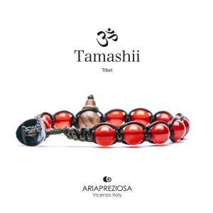 Bracciale Tamashii Agata Rosso Passione
