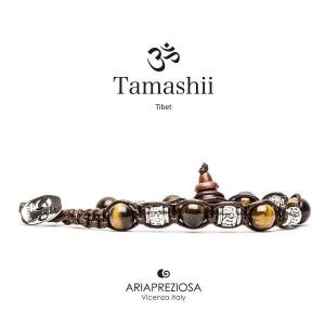Bracciale Tamashii Ruota Preghiera Occhio di Tigre