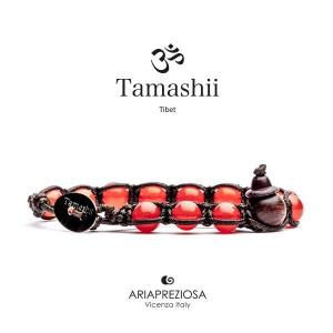 Bracciale Tamashii Agata Rosso Fuoco