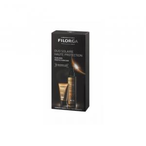 Filorga UV-Bronze Face Spf50 40ml + Body Oil Spf30 150ml