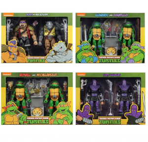 Teenage Mutant Ninja Turtles: Action Figure Animation Series - Wave 2 COMPLETA