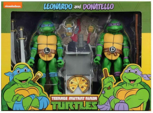 Teenage Mutant Ninja Turtles: Action Figure Animation Series - Wave 2 Leonardo & Donatello