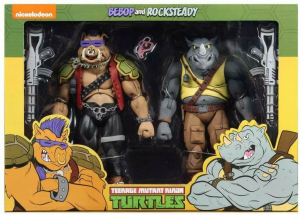Teenage Mutant Ninja Turtles: Action Figure Animation Series - Wave 2 Rocksteady & Bebop