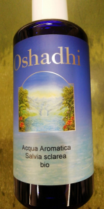 Acqua aromatica SALVIA SCLAREA BIO