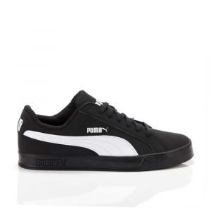 Puma Smash Vulc Black White da Uomo